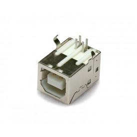 Conector USB B Fêmea 90º PCI - DS1099-BN0 - Connfly