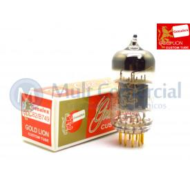 Válvula 12AU7 ECC82 Genalex - Gold Lion