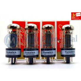 Quarteto Casado da Válvula 6V6GT/CV-511 Genalex - Gold Lion