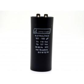 Capacitor para Partida de Motor 161-193UF/110V 36x86mm PM1-10