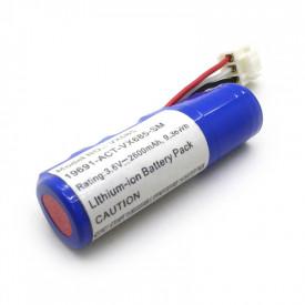 Bateria Recarregável para Máquinas de Cartão 3.6V 2600mAh 9.36Wh Lithium-ion