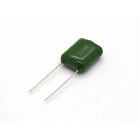 Capacitor Poliéster Verde 150KPF/400V 10% ( 0.15uF / 150NF / 154 )