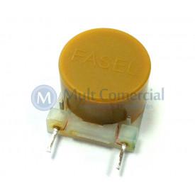 Indutor Fasel Amarelo ECB-F1-01 640mH/21ohms