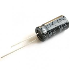 Capacitor Eletrolítico 330uF/63V 13x20mm