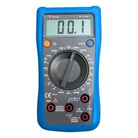 Multímetro Digital ET-1110A - Display LCD de 3 ½ dígitos - Temperatura - Minipa
