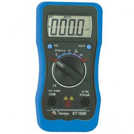 Multímetro Digital Portátil ET-1600 - Minipa