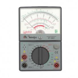 Multímetro Analógico ET-3021 - 10A - 20 kohms/V - Minipa