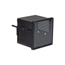 Caixa Plástica   DIN 98X98/2 TI   - Patola