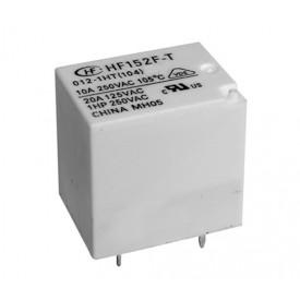 Relé para uso geral 24Vdc 20A SPDT 1 contato reversível HF152F/024-1ZS