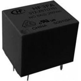 Relé para uso geral 5Vdc 10A SPDT 1 contato reversível HF3FA/005-ZSTF