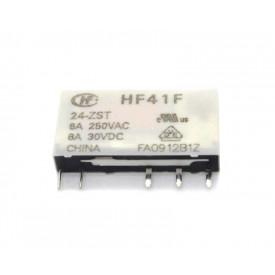 Relé 24Vcc HF41F/MKB 1F