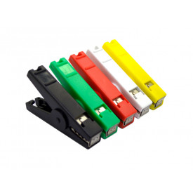 Garra Jacaré diversas cores 80mm JD15-AC068