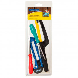 Kit de ferramentas 4 peças 43408304 - Tramontina