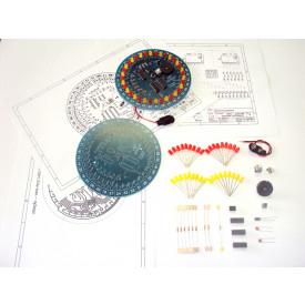 Kit Didático Roleta eletrônica para estudo básico de eletrônica ELZ0100