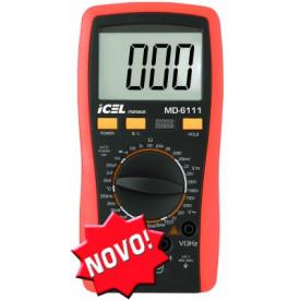 Multímetro Digital  MD-6111 - ICEL Manaus