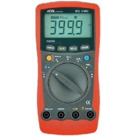 Multímetro Digital MD-6400 - ICEL Manaus