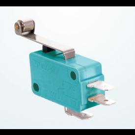 Chave Micro Switch com Alavanca de 25mm e Roldana SPDT ON-(ON) 16A 125/250VAC - MSW-03A - Jietong