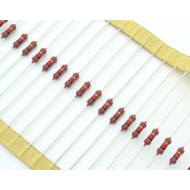 Resistor de Filme Metálico 1/2 Watt SFR25H 5% de tolerância - 0.22 Ω à 10M Ω