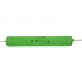 Resistor de Fio 20 Watts AC20 5% de tolerância - 0.22 Ω à 27K Ω