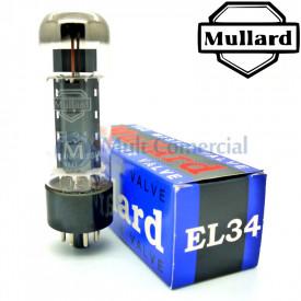 Válvula EL34 6CA7 Pentodo de Potência Mullard