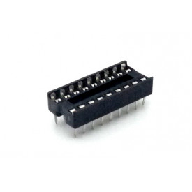 Soquete estampado MAC16 16 pinos - Cód. Loja 116 A 120