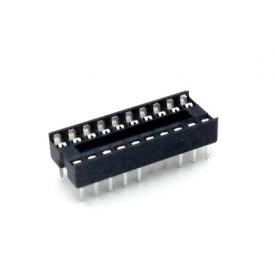 Soquete estampado MAC18 18 pinos - Cód. Loja 1992 A 1993