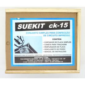 Suekit CK-15 Conjunto simples para confecção de circuito impresso - Suetoku