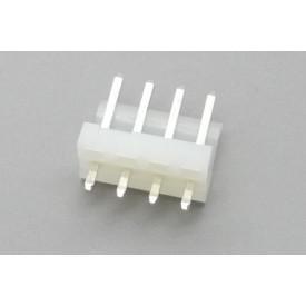 Conector KK JS-4001-04 Macho 180º passo 3.96mm 4 vias