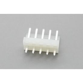 Conector KK JS-4001-05 Macho 180º passo 3.96mm 5 vias