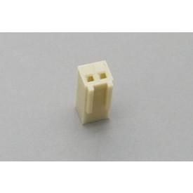 Conector KK JS-8001-02 Alojamento Fêmea passo 2.54mm 2 vias