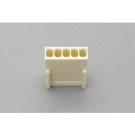Conector KK JS-8001-05 Alojamento Fêmea passo 2.54mm 5 vias