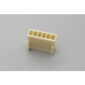 Conector KK JS-8001-06 Alojamento Fêmea passo 2.54mm 6 vias