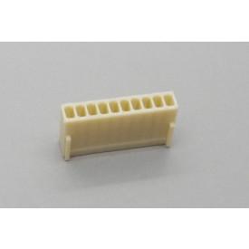 Conector KK JS-8001-10 Alojamento Fêmea passo 2.54mm 10 vias