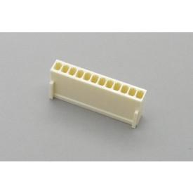 Conector KK JS-8001-12 Alojamento Fêmea passo 2.54mm 12 vias