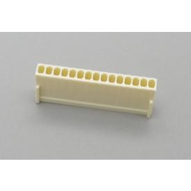 Conector KK JS-8001-15 Alojamento Fêmea passo 2.54mm 15 vias