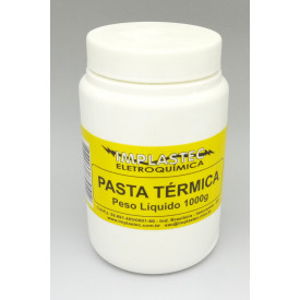 Pasta térmica silicone 1000g - Implastec