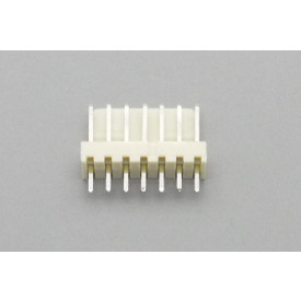 Conector KK JS-6001-07 Macho 180º passo 2.54mm 7 vias