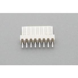 Conector KK JS-6001-08 Macho 180º passo 2.54mm 8 vias