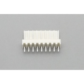 Conector KK JS-6001-09 Macho 180º passo 2.54mm 9 vias