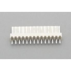 Conector KK JS-6001-12 Macho 180º passo 2.54mm 12 vias