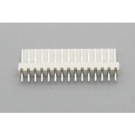 Conector KK JS-6001-15 Macho 180º passo 2.54mm 15 vias