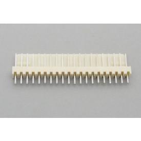 Conector KK JS-6001-20 Macho 180º passo 2.54mm 20 vias