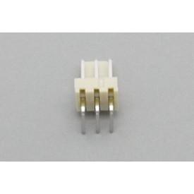 Conector KK JS-7001-03 Macho 90º passo 2.54mm 3 vias