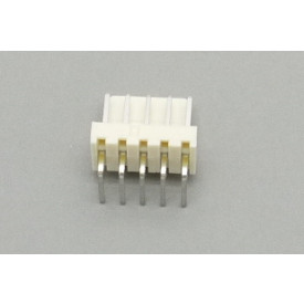 Conector KK JS-7001-05 Macho 90º passo 2.54mm 5 vias