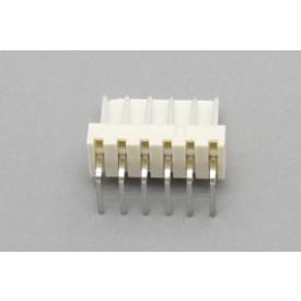Conector KK JS-7001-06 Macho 90º passo 2.54mm 6 vias