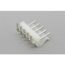 Conector KK JS-4001R-05 Macho 90º passo 3.96mm 5 vias
