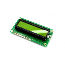 Display LCD 16x02 Verde com Luz de Fundo (Back Light) WH-1602A-YYH-JTK - Winstar