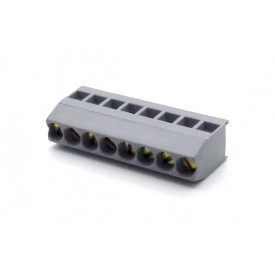 Borne de uso geral com 8 vias CBM008 passo de 5.08mm