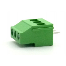 Borne de uso geral com 3 vias EHK508V-03P passo de 5.08mm