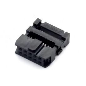 Conector para Flat Cable IDC com Aliviador de 10 vias 101-10TAK